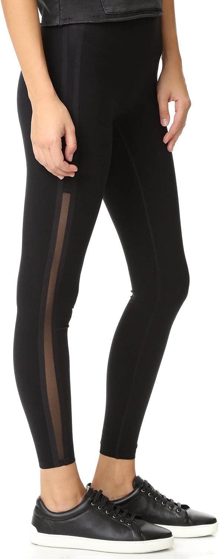 SPANX Every Wear Mesh Side Stripe Very Black Leggings 50007R
