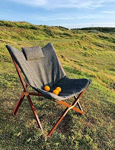 OOFAY LIGHT Silla de jardín Plegable Patio Cómodo Outwell Camping Plegable Cama de Playa Tumbona reclinable portátil Sillón Salón Salón Tumbona reclinable