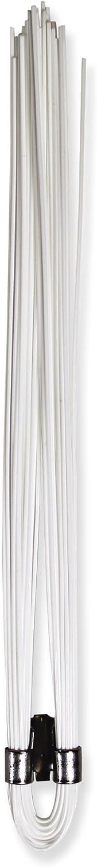 Presco Whisker Marking Whiskers: 1/2 in. x 6 in. (White) / 10-pa