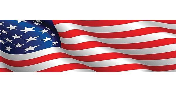 Vantage Point 010005L American Flag Rear Window Graphic VantagePoint