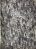 Francois Fiedler Peinture - Litografía de 1960, color blanco y negro
