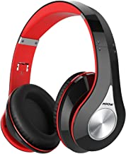 Mpow 059 Bluetooth Headphones Over Ear, Hi-Fi Stereo Wireless Headset, Foldable, Soft Memory-Protein Earmuffs, w/Built-in ...