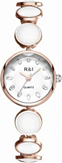 R&I Dress Watch For Women Analog Stainless Steel - 971