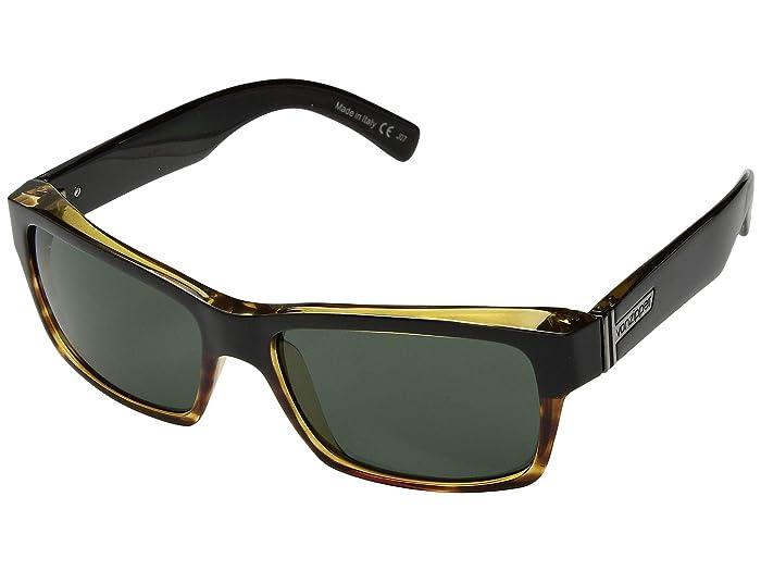 VonZipper  Fulton (Hardline Tortoise Vintage Grey) Fashion Sunglasses