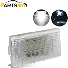 Partsam White CANBus LED 18-SMD Luggage Trunk Cargo Area Light Lamp Replacement for BMW 1/3/5/6/7/X Series