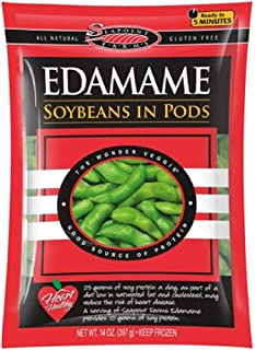Sea Point Farms Organic Edamame Soybeans In Pods, 14 Ounce (Pack of 12)