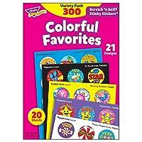 トレンド ごほうびシール 香り付 バラエティセット 300片 Trend Stinky Stickers Variety Pack Colorful Favorites T-6481