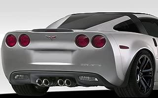 Extreme Dimensions Duraflex Replacement for 2005-2013 Chevrolet Corvette C6 Stingray Look Window Rails - 2 Piece