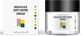 HE-VO Molecule Anti-Aging Cream | Natural Formula Daily Face Moisturizer | Anti Wrinkle Cream for Men and Women | All Skin Types | 1.69 fl. oz