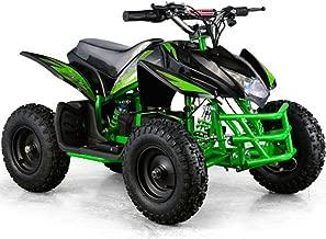 Titan Outdoor Kids Children 24V Green Mini Quad ATV Dirt Motor Bike Electric Battery Powered