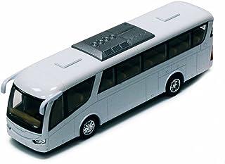 Coach Bus, White - Kinsmart 7101DW - 7