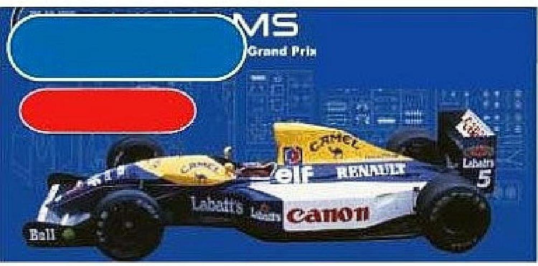 1 20 Williams Monaco GP 1992 (Model Car) (japan import)