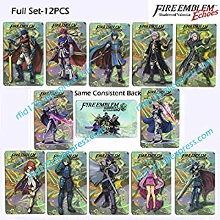 Fire Emblem Echoes: Shadows of Valentia Amiibo NFC Printing Card Corrin Lucina IKE Whole set-12pcs/lot