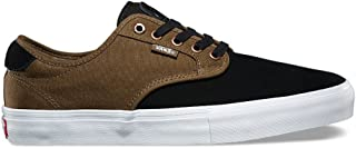 Vans Chima Ferguson Pro Black/Teak Men's Classic Skate Shoes Size 7.5