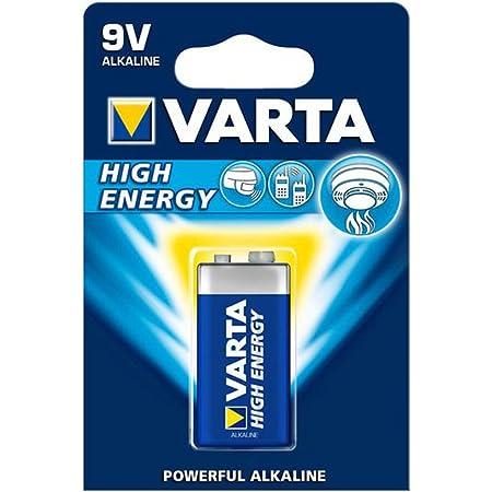 Varta High Energy Alkaline Manganese 9 V Block Battery Elektronik