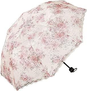 YQRYP Umbrella Sun Umbrella Umbrella Double Lace Umbrella Rain Dual-use Umbrella Sun Protection Umbrella UV Umbrella Folding Umbrella Windproof Umbrella, Golf Umbrella (Color : Pink)
