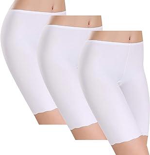 Tuopuda Leggings Corti Donna Pantaloncini Sottogonna Culotte Shorts Donna Boxer Mutande Shorts Leggings Shorts(3 Pezzi)
