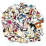 greestick Stickerbomb Anime Girl - Adhesivos (70 Unidades), diseño de Chica Pin up...