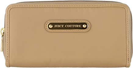 62ebf6a9bfafb Juicy Couture Nylon Zip Continental Wallet-Beige