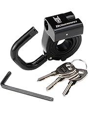 ドーベルマン(DOBERMAN) ヘルメットロック (ヘルメットホルダー) 適合:22mm~25mm DBL-002