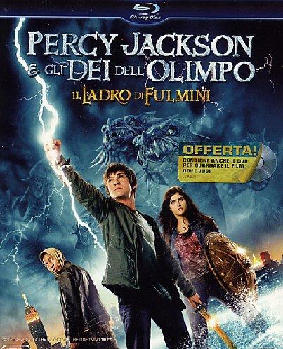 Locandina Percy Jackson e gli dei dell'Olimpo - Il ladro di fulmini(+DVD)