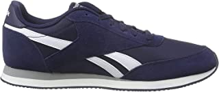 Reebok Men's Royal Classic Jogger 2 Trainers, Collegiate Navy/White/Baseball Grey
