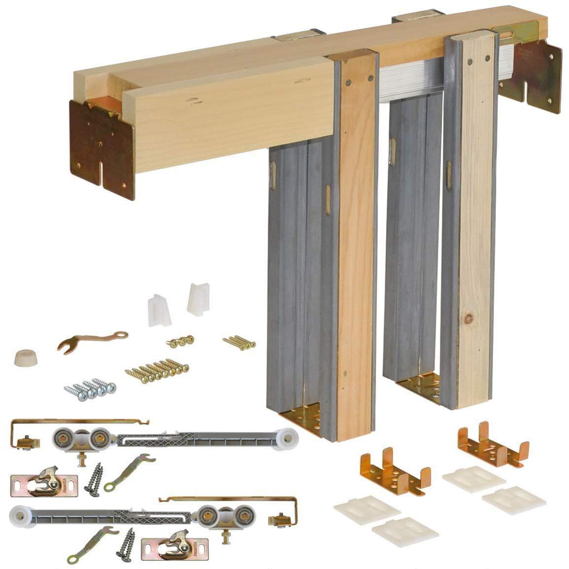 Johnson Hardware 152668SC Commercial Pocket