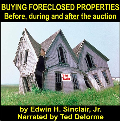 Buying Foreclosed Properties audiobook cover art