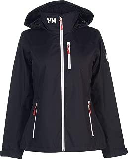 Helly Hansen Crew Hooded Mid Jacket Womens Blue Coats Outerwear