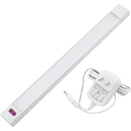 Szbritelight LED キッチン用ライト 非接触スイッチ式LEDスリムバーライト 手元灯 バーライト キッチン 流し元灯 センサーライト スリムライト 壁掛け式 キッチン照明 手を振ることで操作でき 30CM 白色(4000k) 多目的灯
