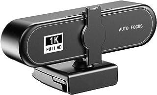 كاميرا ويب كام، HD 1080P / 2K / 4K كاميرا ويب التركيز التلقائي للكمبيوتر USB2.0 مقبس وشغل ميكروفون مدمج. تستخدم للمؤتمرات ...