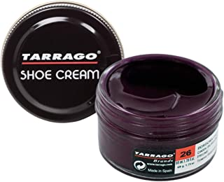 Tarrago Shoe Cream Jar 50Ml. Dark Burgundy #26
