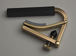 Shubb Original Nylon String Guitar Capo, Brass, C2b