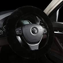 sheepskin car steering wheel cover
