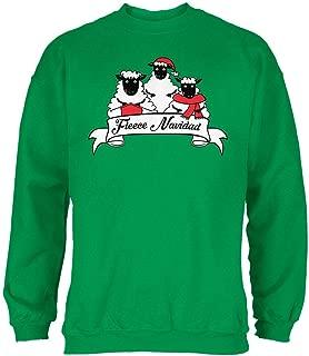 Old Glory Christmas Sheep Feliz Fleece Navidad Mens Sweatshirt