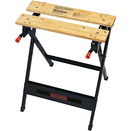 BLACK+DECKER Workmate Portable Workbench, 350-Pound Capacity (WM125)