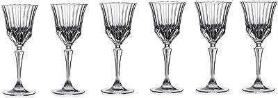 RCR Crystal Adagio Collection Liquor Glass Set