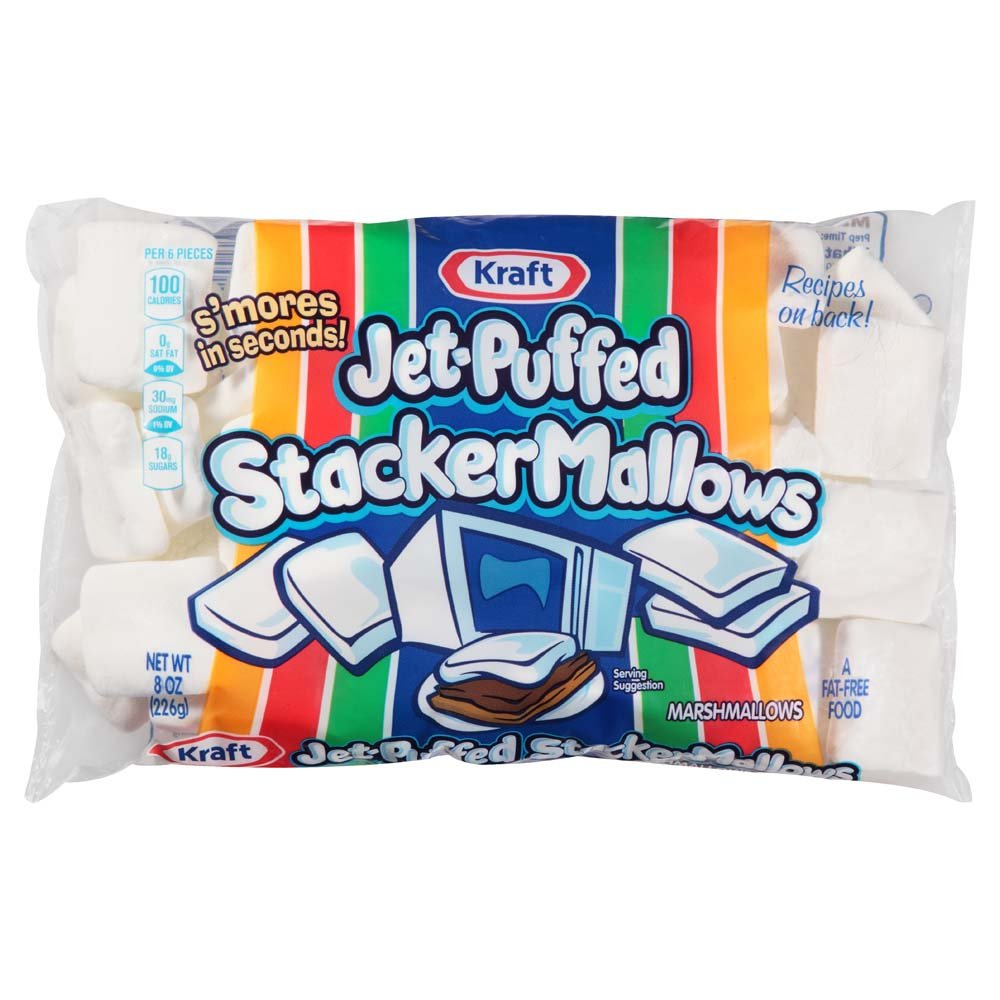 Bargain Don't miss the campaign sale Kraft Jet-Puffed StackerMallows Marshmallows