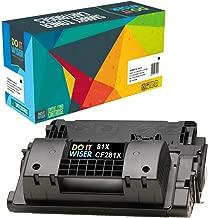 Do it Wiser Compatible Toner Cartridge Replacement for HP 81X CF281X HP Laserjet M605 M606 M630 M605X M605N M605DN (Black, High Yield)