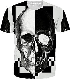 Goodstoworld Unisex 3D Camiseta Divertidas Impresa Personalizada Verano Casual