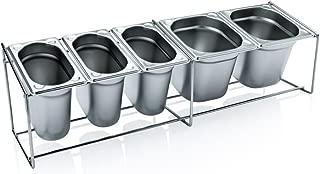 Organizador de Almacenamiento de Cocina Redondo Giratorio de Ahorro de Espacio ZSLGOGO Estante de Especias Giratorio para 20 tarros de Especias de Vidrio con Tapas Estante de Especias de Acero