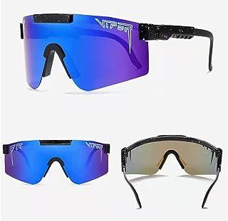 Pit-viper Sunglasses for Men and Women, Windproof Eyewear UV400, Pit Viper Sunglasses, Outdoor Cycling Glasses, UV400 Pola...