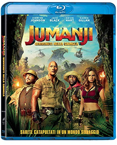 Jumanji: Welcome To The Jungle [Blu-ray] [2017]