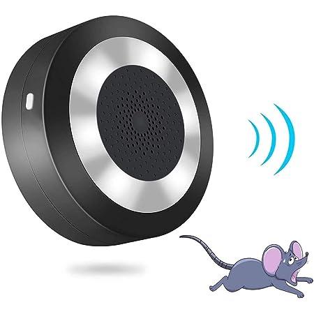 YGJ Ultrason Souris et Rat Répulsif Souris Conversion Double Fréquence Anti Souris Anti Rat Ultrasons Contre Rats et Souris Efficace sur 100 m²