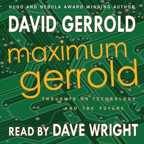 Maximum Gerrold audiobook cover art