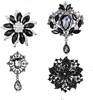 Best enamel flower brooch lot Reviews