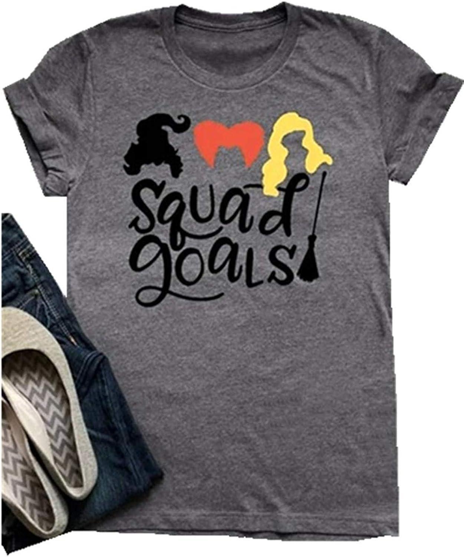 Squad Goals Hocus Pocus shirt  Sanderson Sisters tshirt  Plus size Halloween tshirts  Hocus Pocus shirt womens  Sanderson Sisters tee