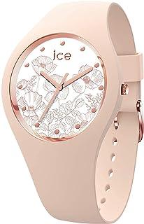 Ice-Watch - ICE flower Spring nude - Montre rose pour femme avec bracelet en silicone