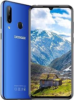 Doogee N20 mobiele telefoons, 4 GB RAM + 128 GB ROM, 16 MP + 8 MP + 8 MP, Android 10, smartphone 4180 mAh – hemelsblauw