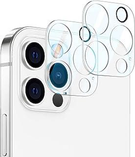 Compatible with iPhone 12/12 Mini/12 Pro/12 Pro Max Camera Lens Protector, iPhone 12 Camera Lens Screen Protector HD Tempe...